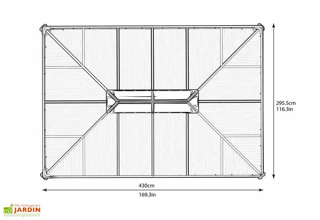 Tonnelle Design en Aluminium (430x295)