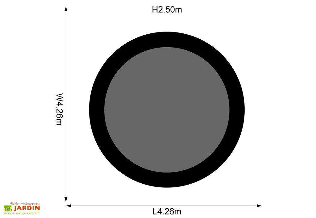 Trampoline Magnitude 426 cm