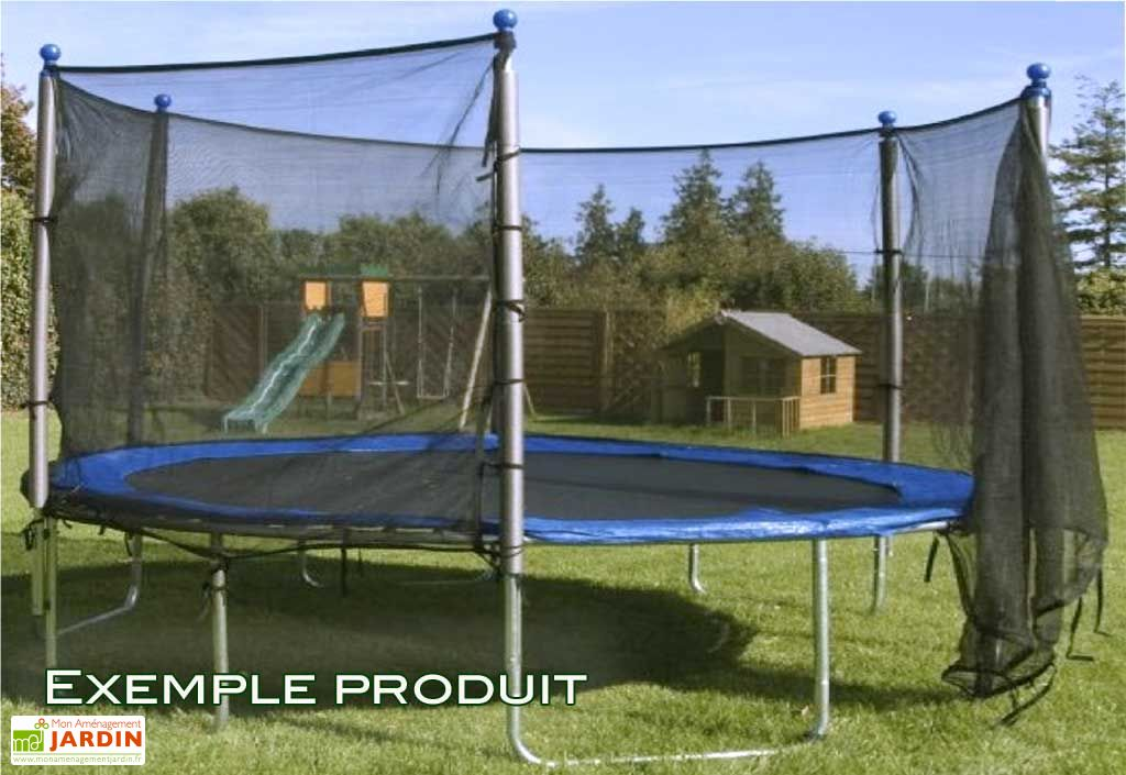 Trampoline + Protection Ø 365 cm