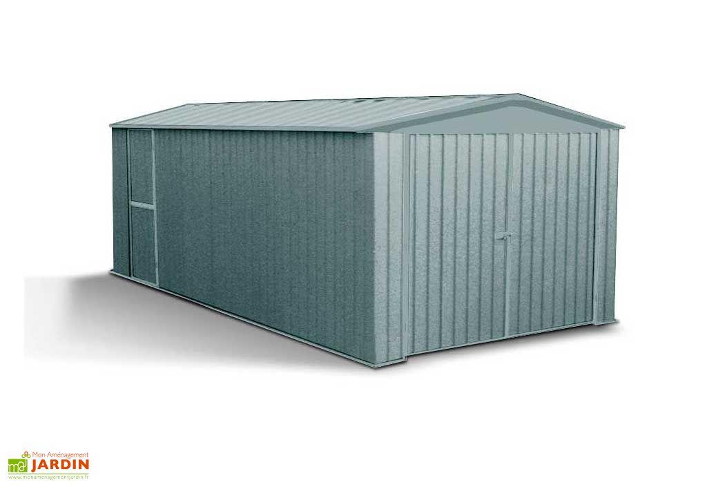 Garage Métal 1 Voiture (3x4,5x2) Absco