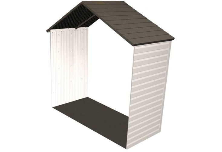 Kit d'extension pour abri de jardin PVC 6433