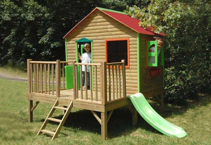 Maison Enfant Bois et Plastique Norah