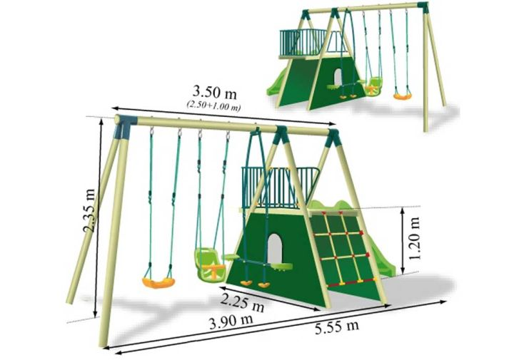 Portique Aire de Jeux Kenora