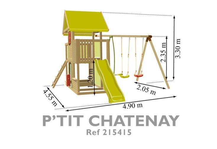 Portique Aire de Jeux Ptit Chatenay