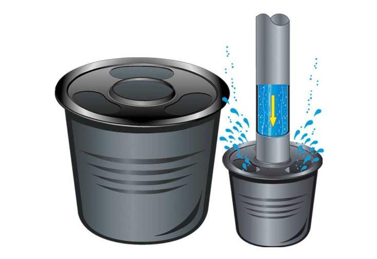 Cuve recuperateur eau Clever A 4500 L