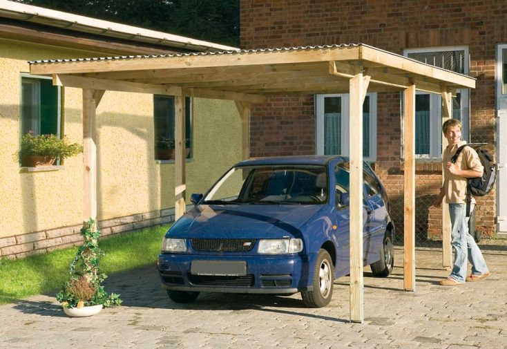 Carport Kompakt L (3x5)
