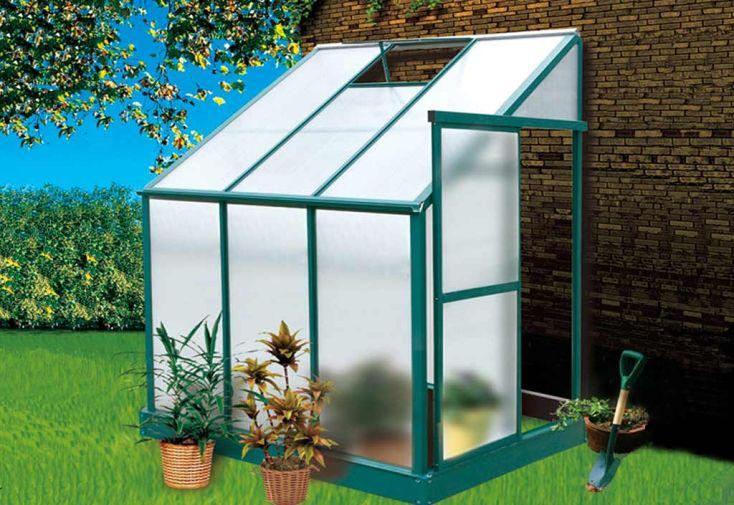 Serre de Jardin Adossée Iris (243x122x227)