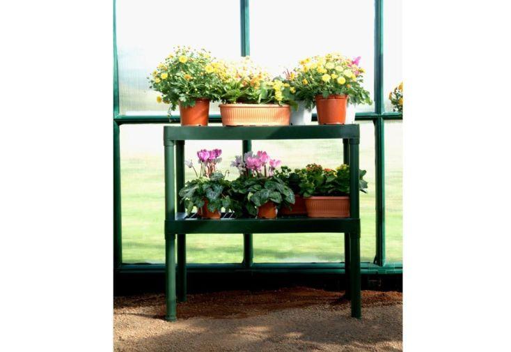 Etagere Simple pour Serre de Jardin Rion