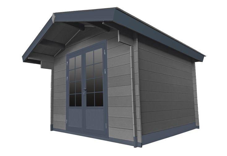 Abri de jardin en bois composite woodlife 8,7 m²