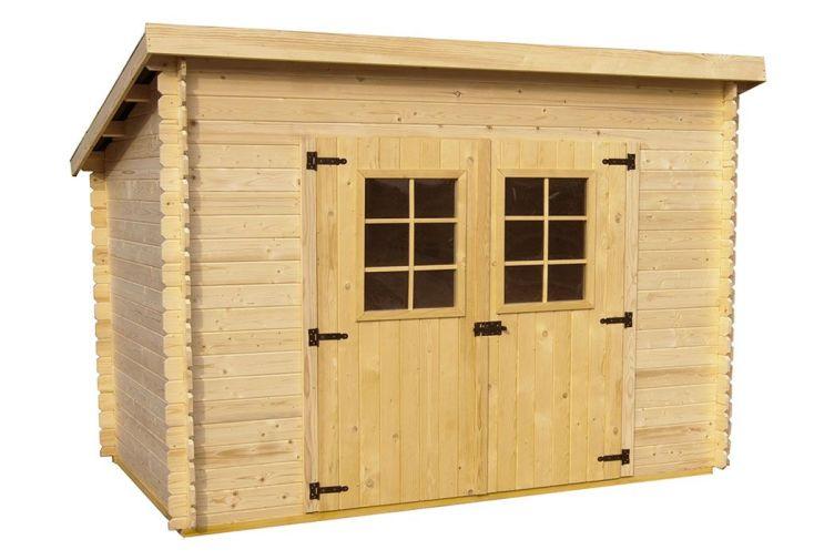 abri de jardin en bois monopente Abri de Jardin Bois 20 mm Monopente (198x314x200cm)