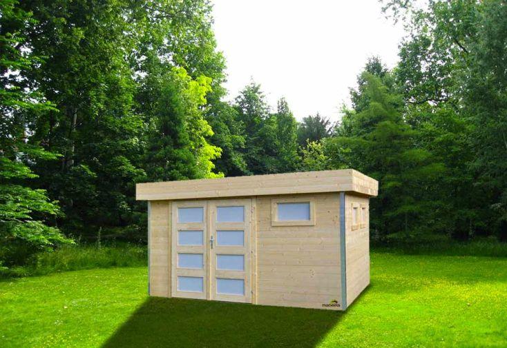 abri de jardin bois comfy 28 mm 300x350 madeira. Black Bedroom Furniture Sets. Home Design Ideas