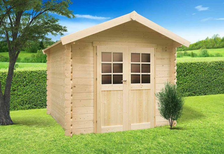 Abri de jardin bois gera 19 mm 248x248 solid for Abris de jardin solid belgique
