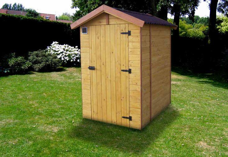 Toilettes s ches ext rieur 120 x 160 habrita for Porte bois exterieur jardin