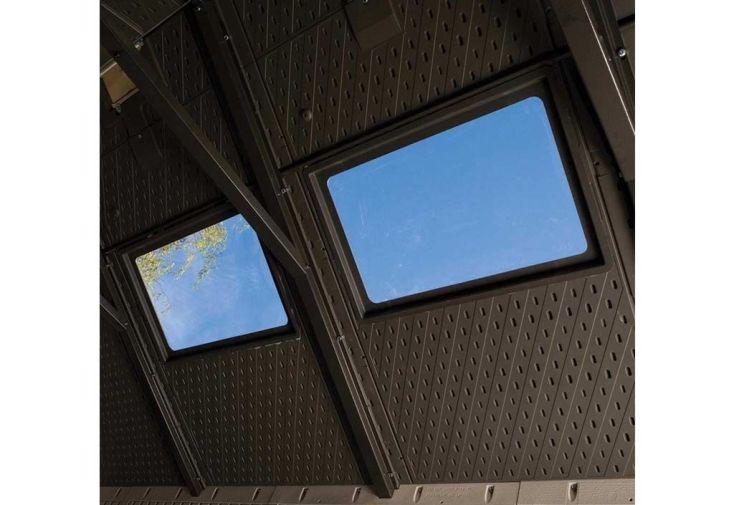 lucarnes de toit pour abri de jardin
