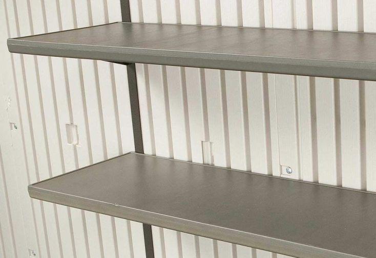 étagères pour abri en pvc