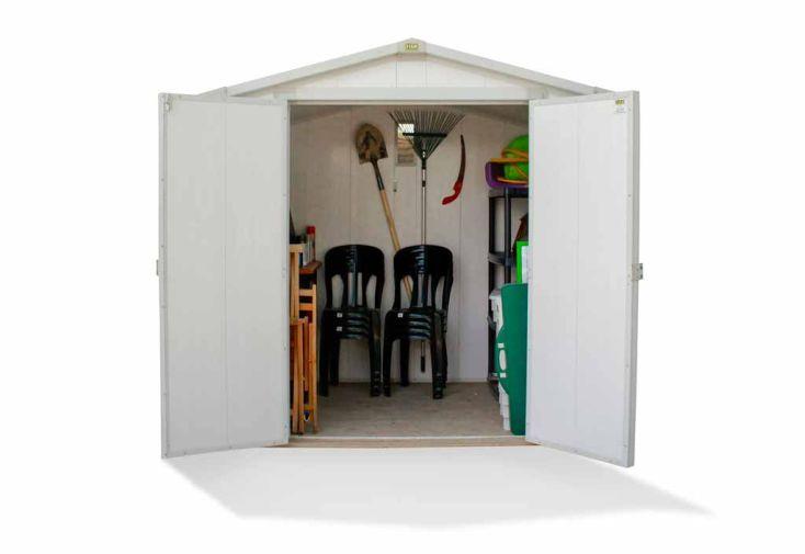 Abri de Jardin PVC Oyonnax (222x174x224)