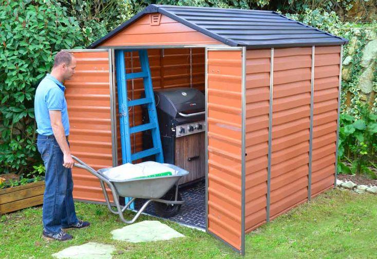 Abri de jardin polycarbonate skylight palram 2 39x1 88 4 - Abri de jardin en resine factor 88 ...