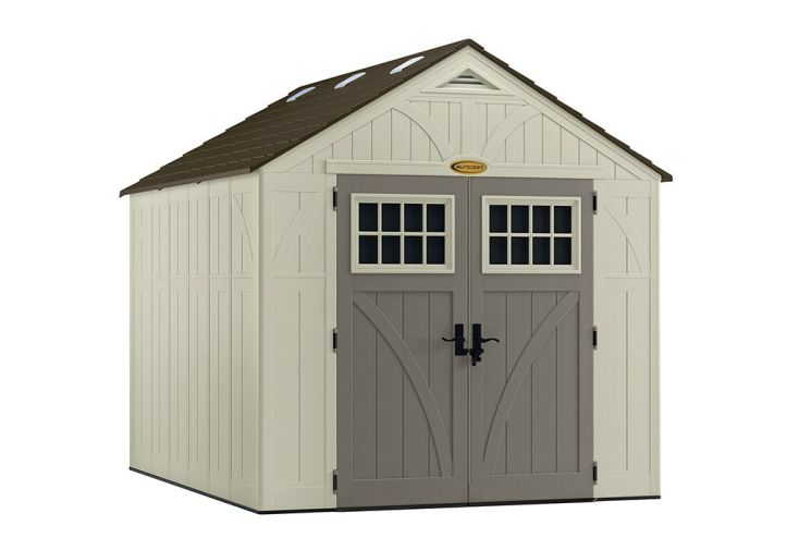 Abri de Jardin PVC Suncast Woodgrain 8100 (3,10x2,55)