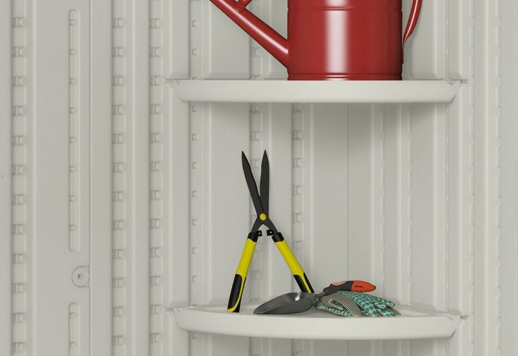Abri de Jardin PVC Suncast Woodgrain 8700 (2,17x2,55)