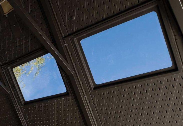 lucarnes de toit pour abri en résine