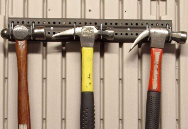 porte outils pour abri de jardin