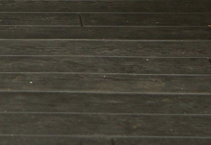 plancher d'abri de jardi