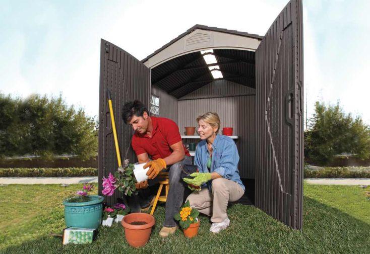 Abri de jardin PVC Sentinel 60014
