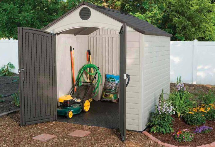 Abri de jardin PVC Sentinel 6418-1 244x228