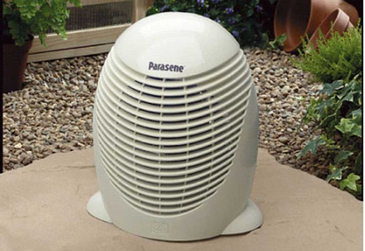 Chauffage électrique 2000 W avec thermostat