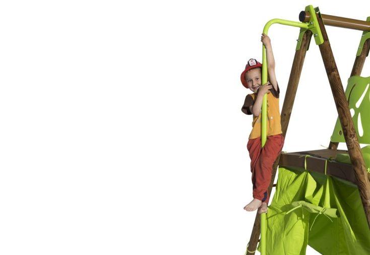 Agrès Mat de Pompier Sam pour Portique 2,30 m avec Plateforme