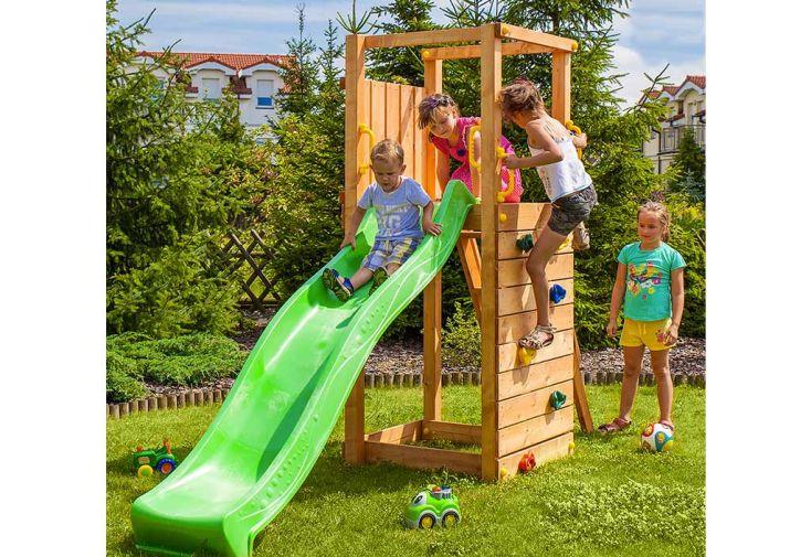 Aire de Jeux en Bois de Pin Traité Fungoo Tip Top