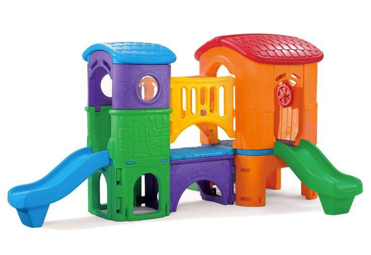 aire de jeux géante clubhouse pour enfants à partir de 2 ans