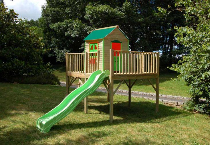 Maison Enfant Bois et Plastique Angèle
