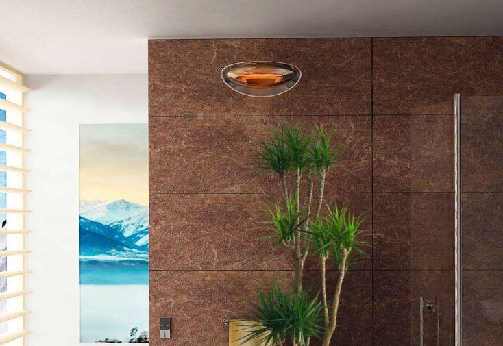 Applique Chauffante Murale Infrarouge 2000W (6 Coloris)