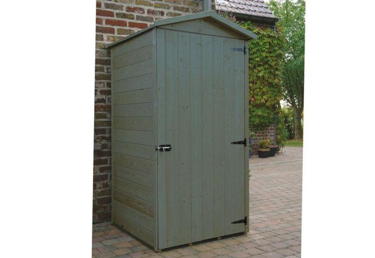 Bucher coffre cache poubelle mon am nagement jardin - Abris de jardin bois autoclave ...