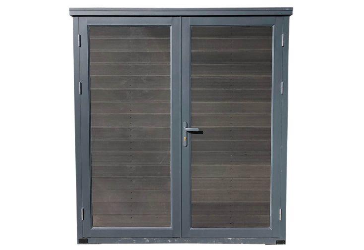 armoire de jardin Util' Maxi Green Outside aluminium et composite 185 cm