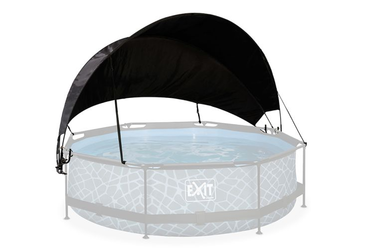Auvent de protection pour piscines tubulaires rondes diamètre 360 cm