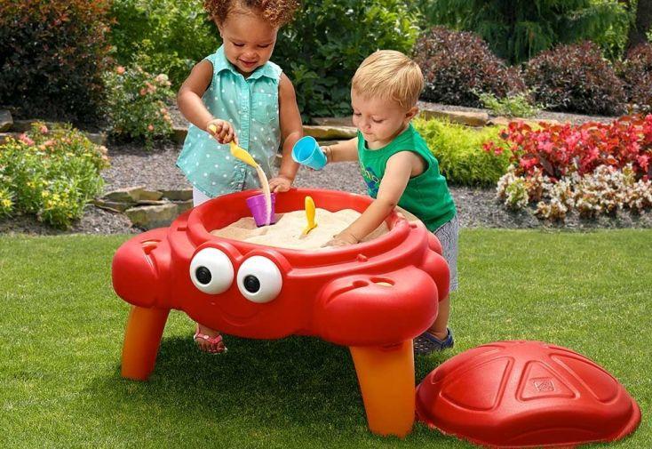 table bac à sable pour enfants à partir de 18 mois