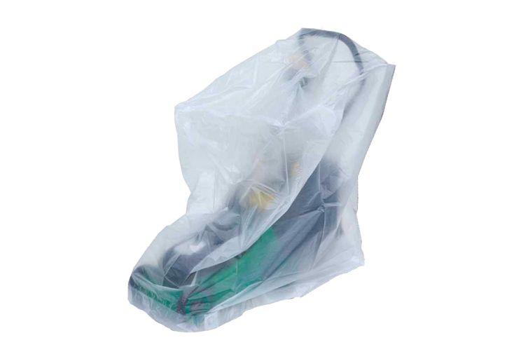 Bâche de Protection Transparente pour Tondeuse à Gazon Titanium 63 x 56 x 114 cm