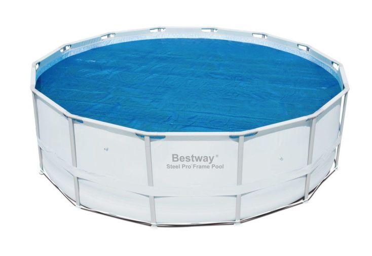 b che solaire et piscine ronde d 4 10 bestway. Black Bedroom Furniture Sets. Home Design Ideas