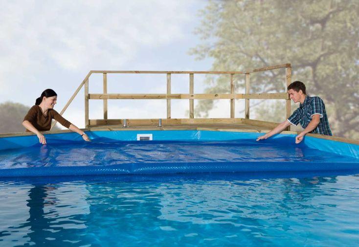 bache chauffante pour piscine korfu bache chauffante. Black Bedroom Furniture Sets. Home Design Ideas