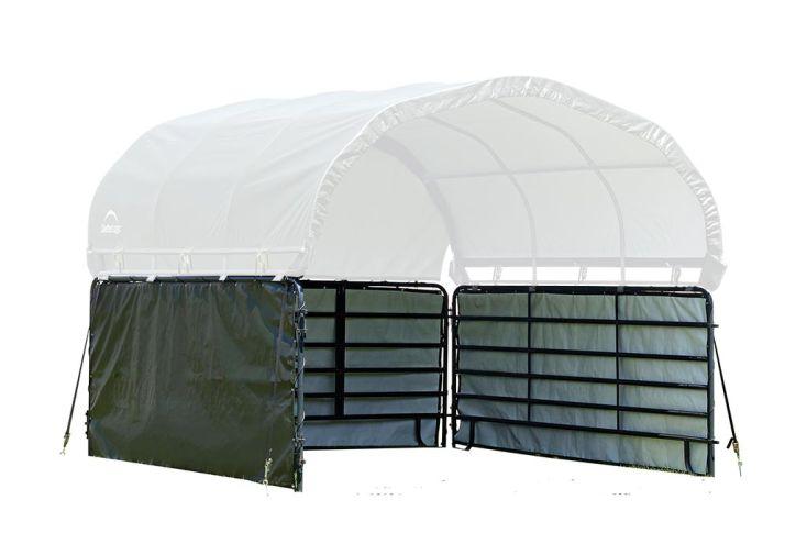 Bâches latérales pour enclos animaux en polyéthylène 370 x 170 cm Shelter Logic