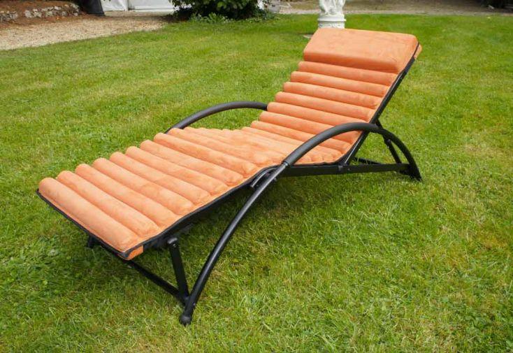 Bain de soleil Pliant Textilène Gym-Futon (65x180x90)