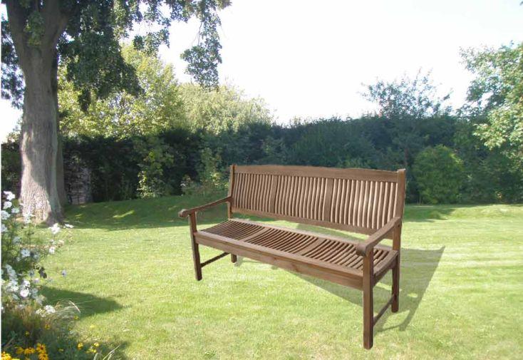 Banc de jardin anglais 180 banc anglais 180 cm gardival for Salon de jardin en anglais