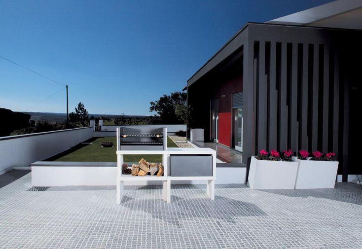 Barbecue Modulaire Béton LIV04