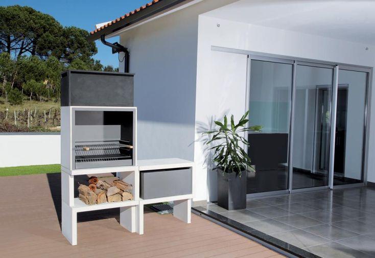 Barbecue Modulaire Béton LIV03