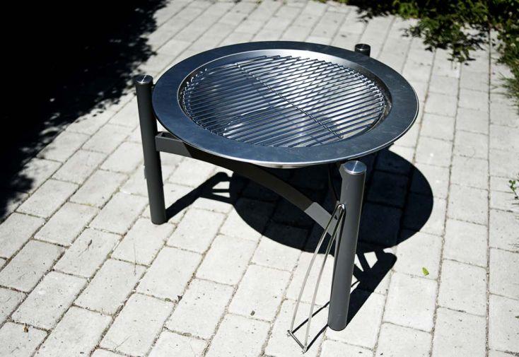 Barbecue Braséro Charbon de Bois Modulable Dancook 9000