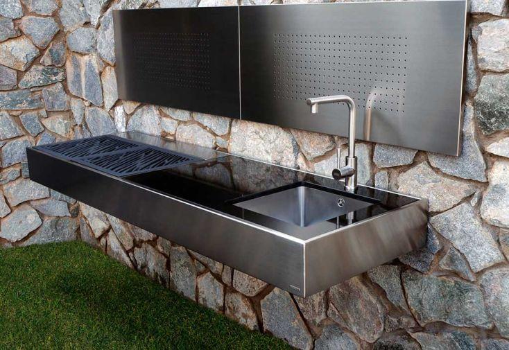 Barbecue Design au Charbon de Bois Krakatoa Élite Élégance