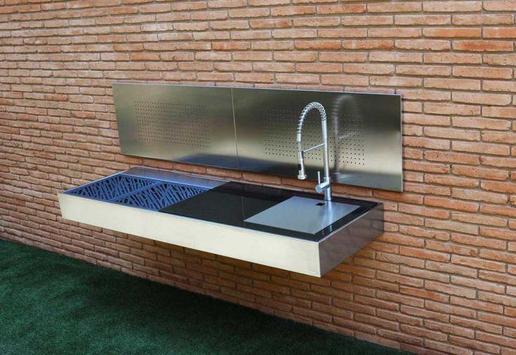 barbecue design au charbon de bois krakatoa lite plus l gance fesfoc. Black Bedroom Furniture Sets. Home Design Ideas