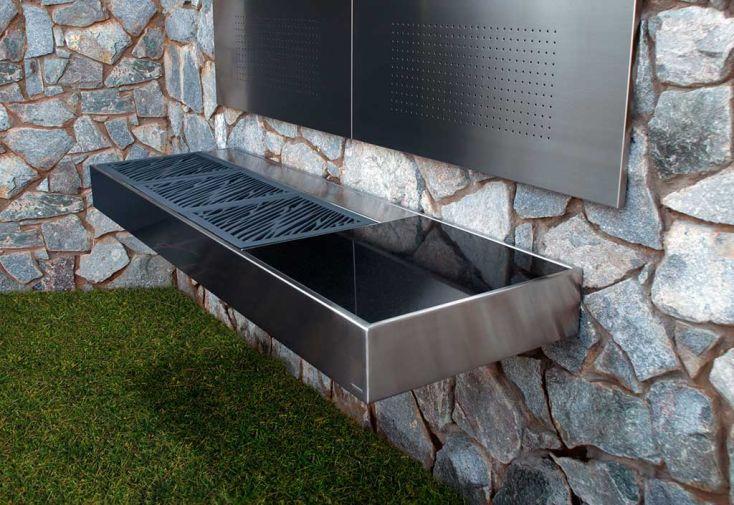 Barbecue Design au Charbon de Bois Krakatoa Fire Élégance